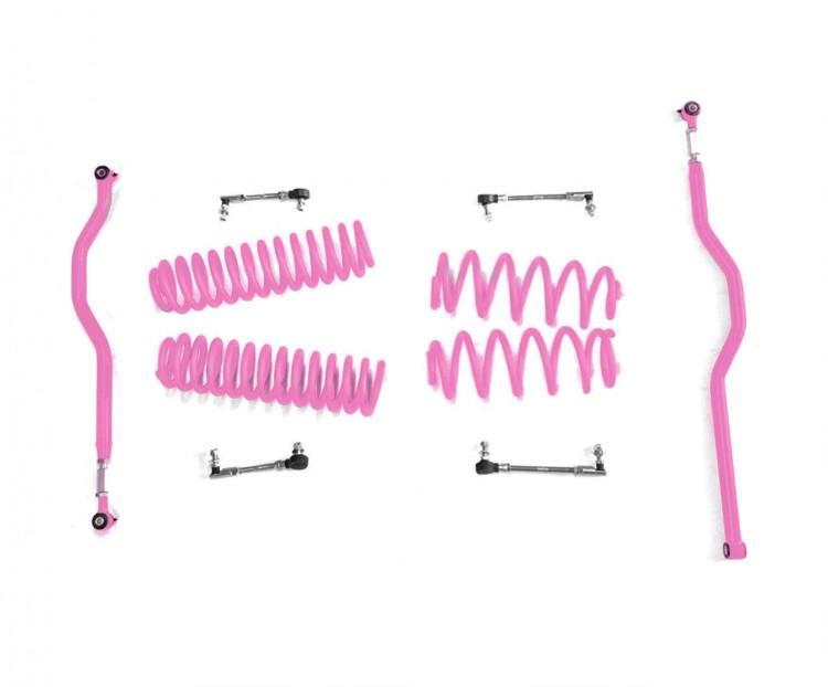 Steinjager J0046699 Lift Kit Wrangler JK 2007-2018 2.5 Inch Pinky