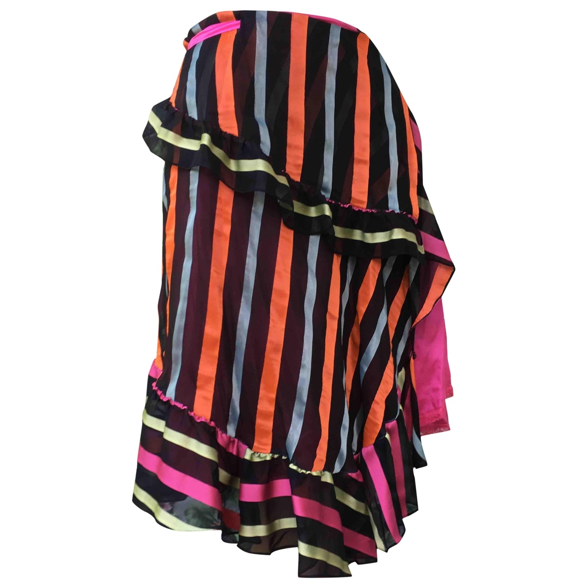 Christian Lacroix - Jupe   pour femme en soie - multicolore