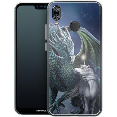 Huawei P20 Lite Silikon Handyhuelle - Protector of Magic von Lisa Parker