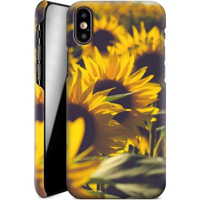 Apple iPhone XS Smartphone Huelle - Sunflower 2 von Joy StClaire