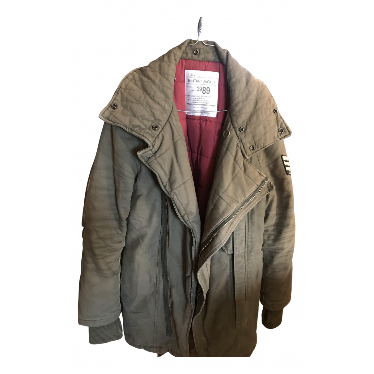Zadig & Voltaire N Green Cotton jacket for Women 32 FR