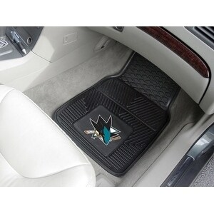 NHL - San Jose Sharks  2-pc Vinyl Car Mats 17