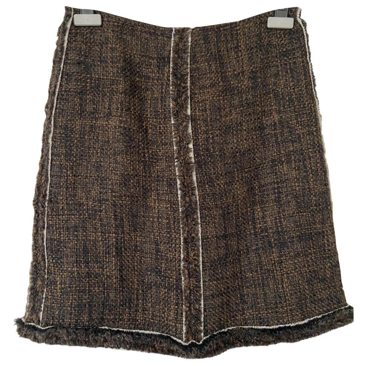 Falda Tweed Prada