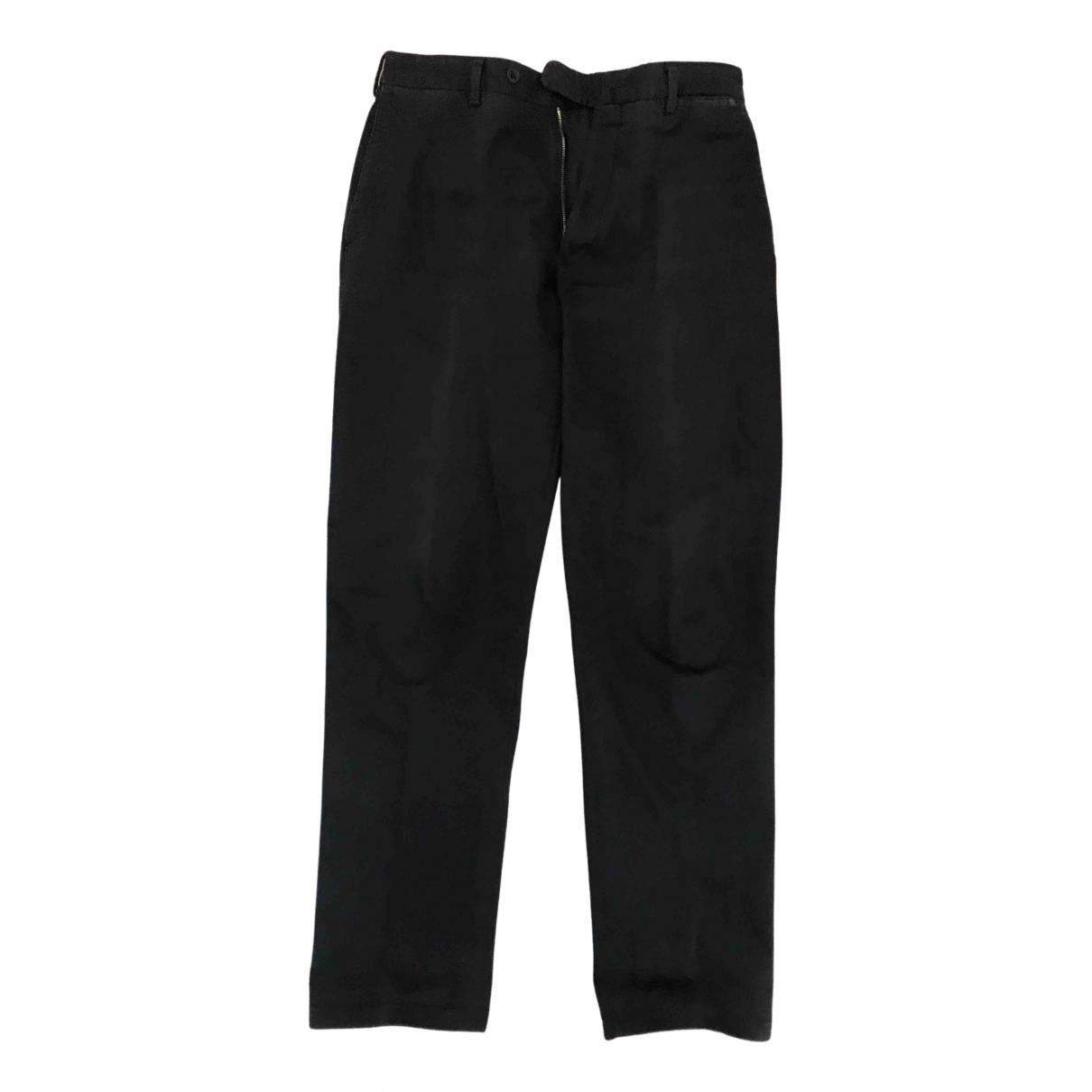Incotex N Blue Cotton Trousers for Men 46 IT