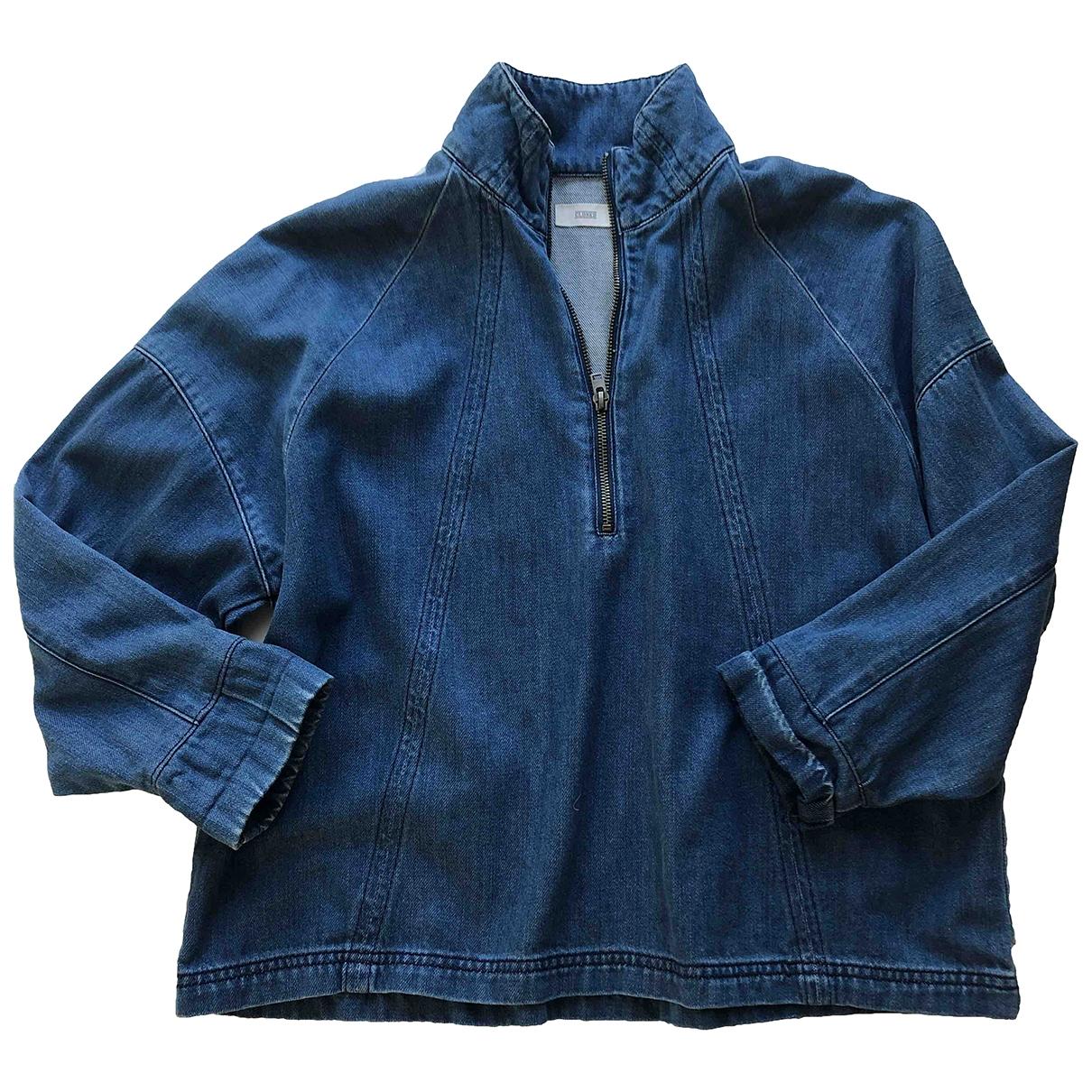 Closed - Top   pour femme en denim - bleu