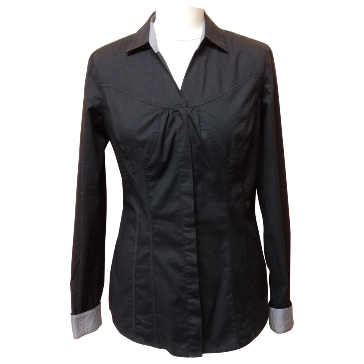 Calvin Klein \N Black Cotton  top for Women L International