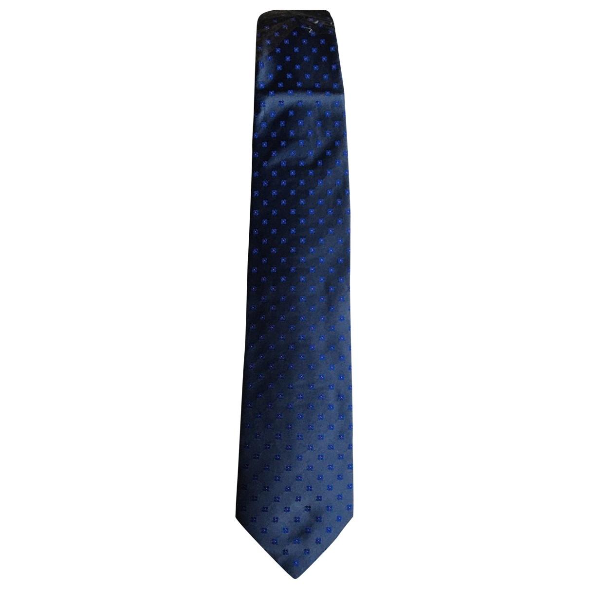 Kenzo \N Blue Silk Ties for Men \N