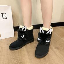 Cartoon Ear Snow Boots
