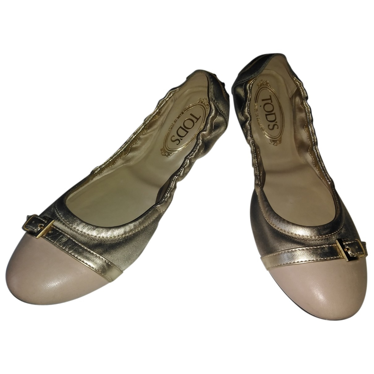 Tod's N Pink Leather Ballet flats for Women 41 IT