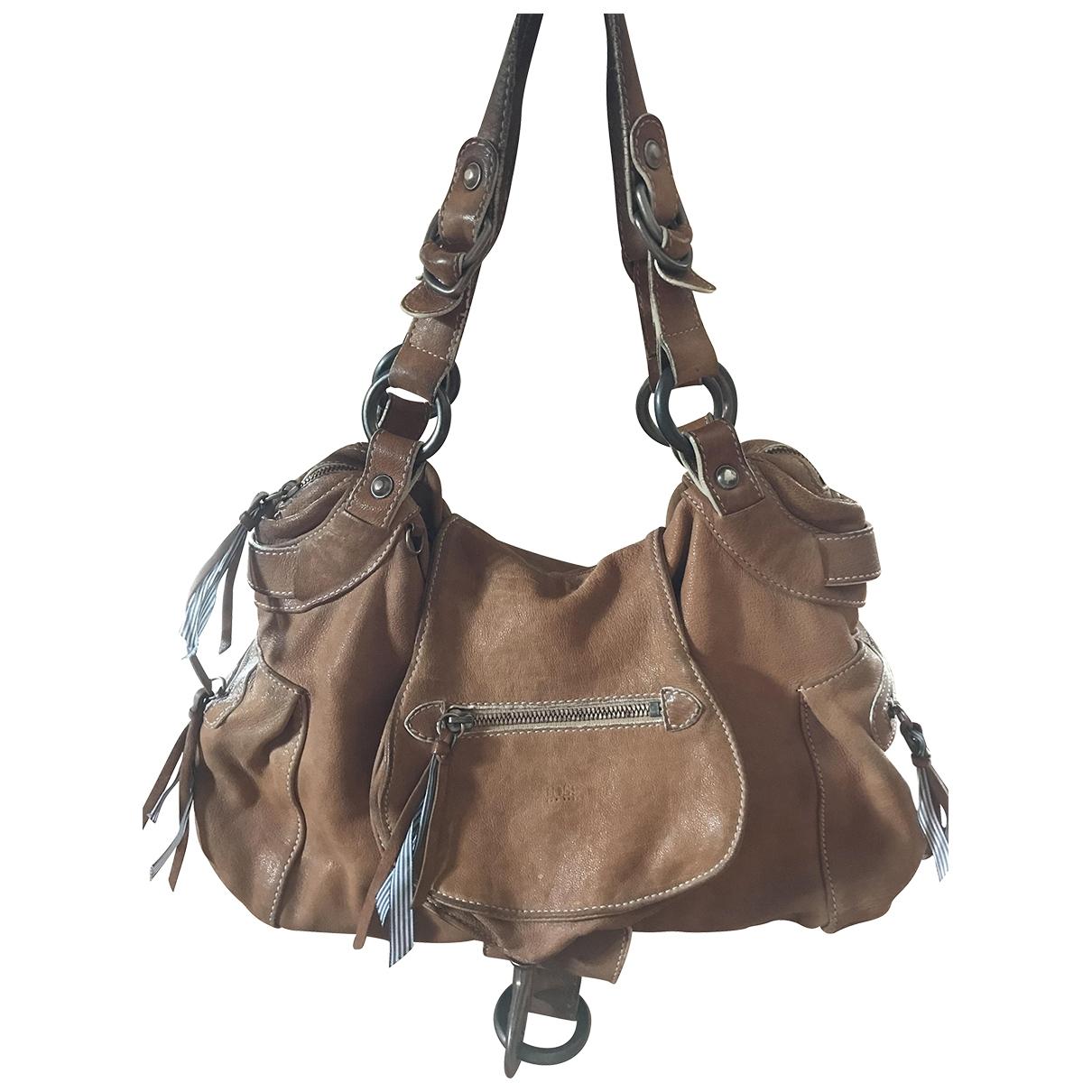 Boss \N Beige Leather handbag for Women \N