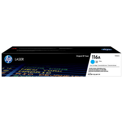 HP 116A W2061A Original Cyan Laser Toner Cartridge