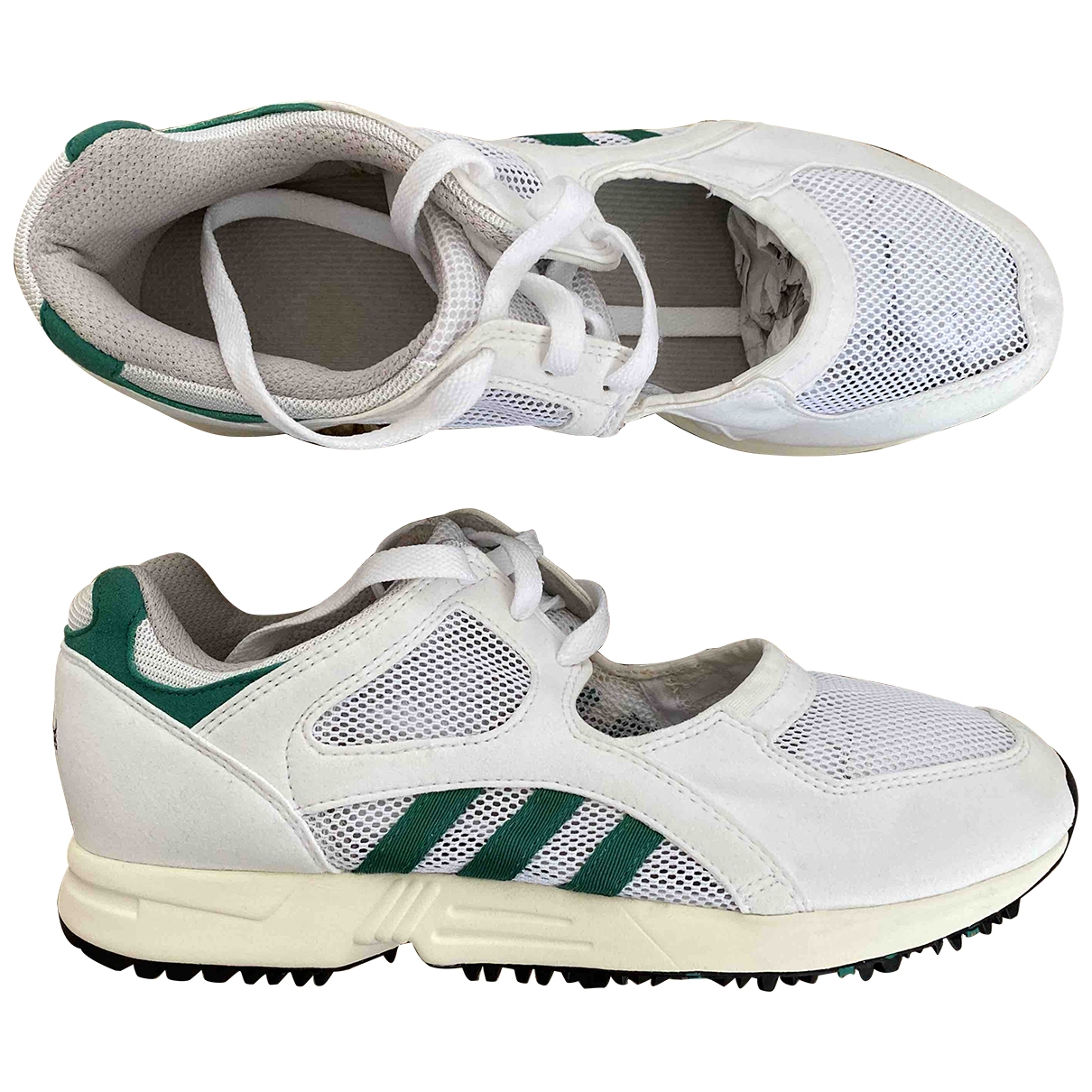 Adidas EQT Support White Leather Trainers for Women 7 UK