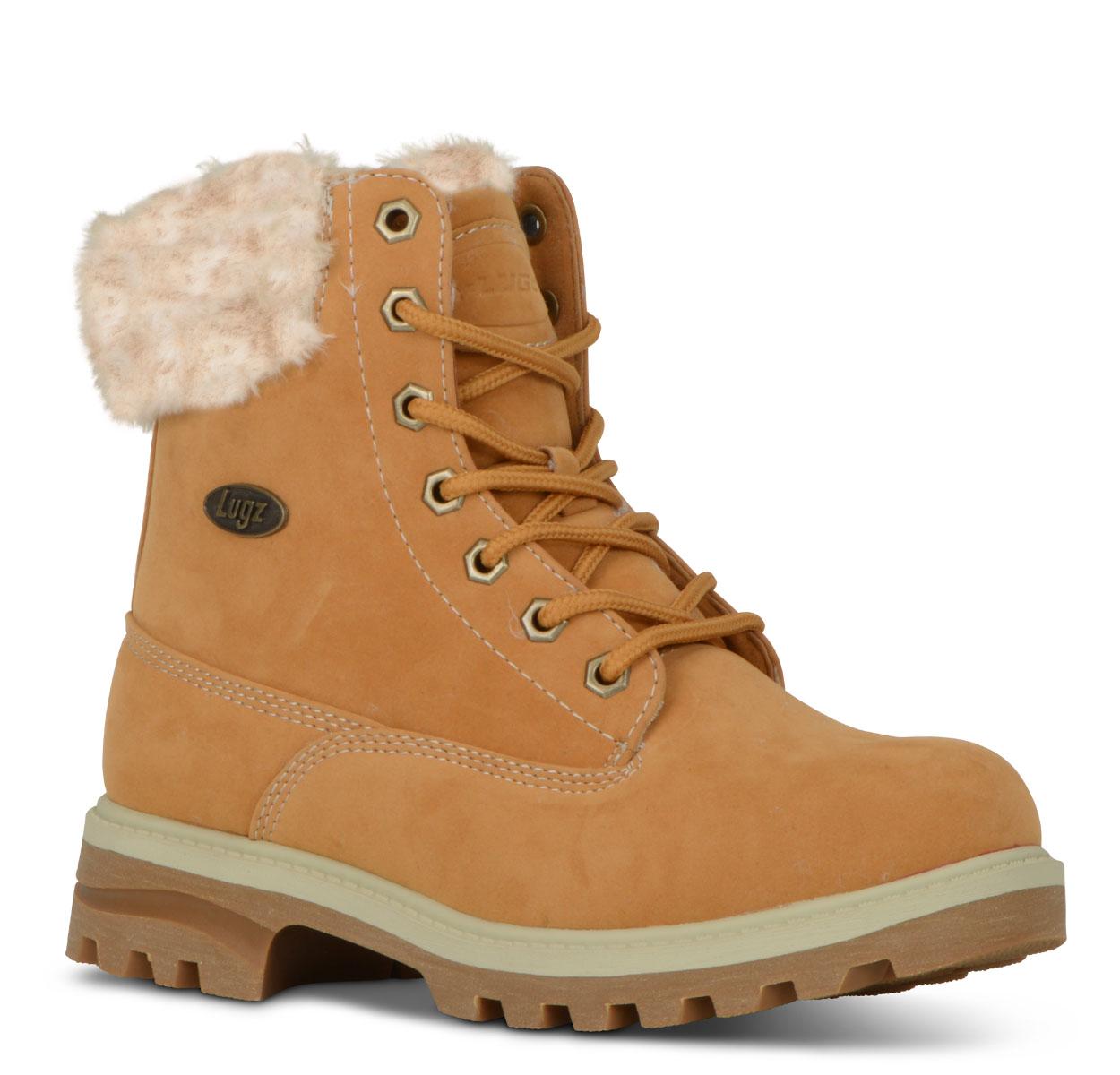 Women's Empire Hi Fur 6-Inch Boot (Choose Your Color: Golden Wheat/Cream/Gum, Choose Your Size: 10.0)