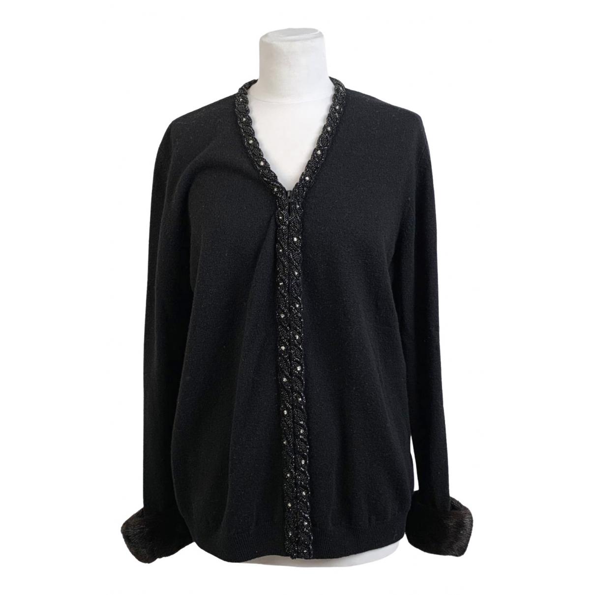 Blumarine \N Pullover.Westen.Sweatshirts  in  Schwarz Wolle