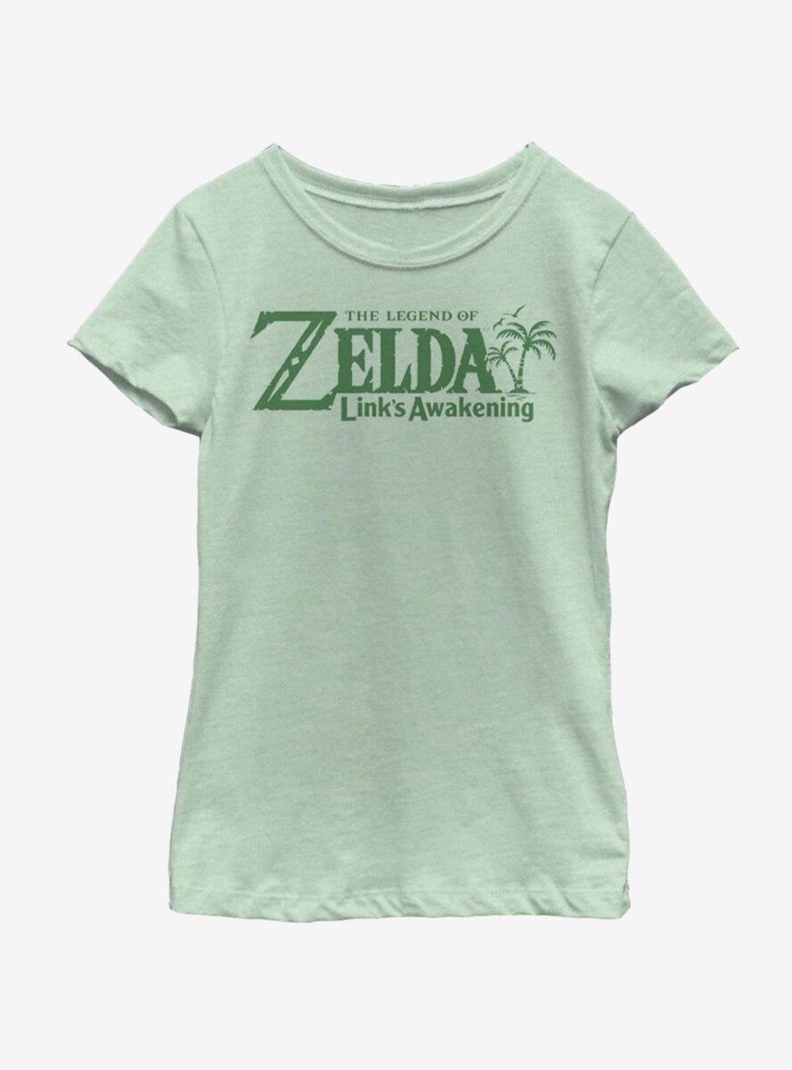 Nintendo ENG Logo Youth Girls T-Shirt