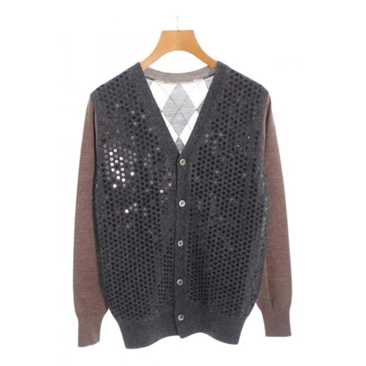 Comme Des Garcons - Pull   pour femme en laine - gris