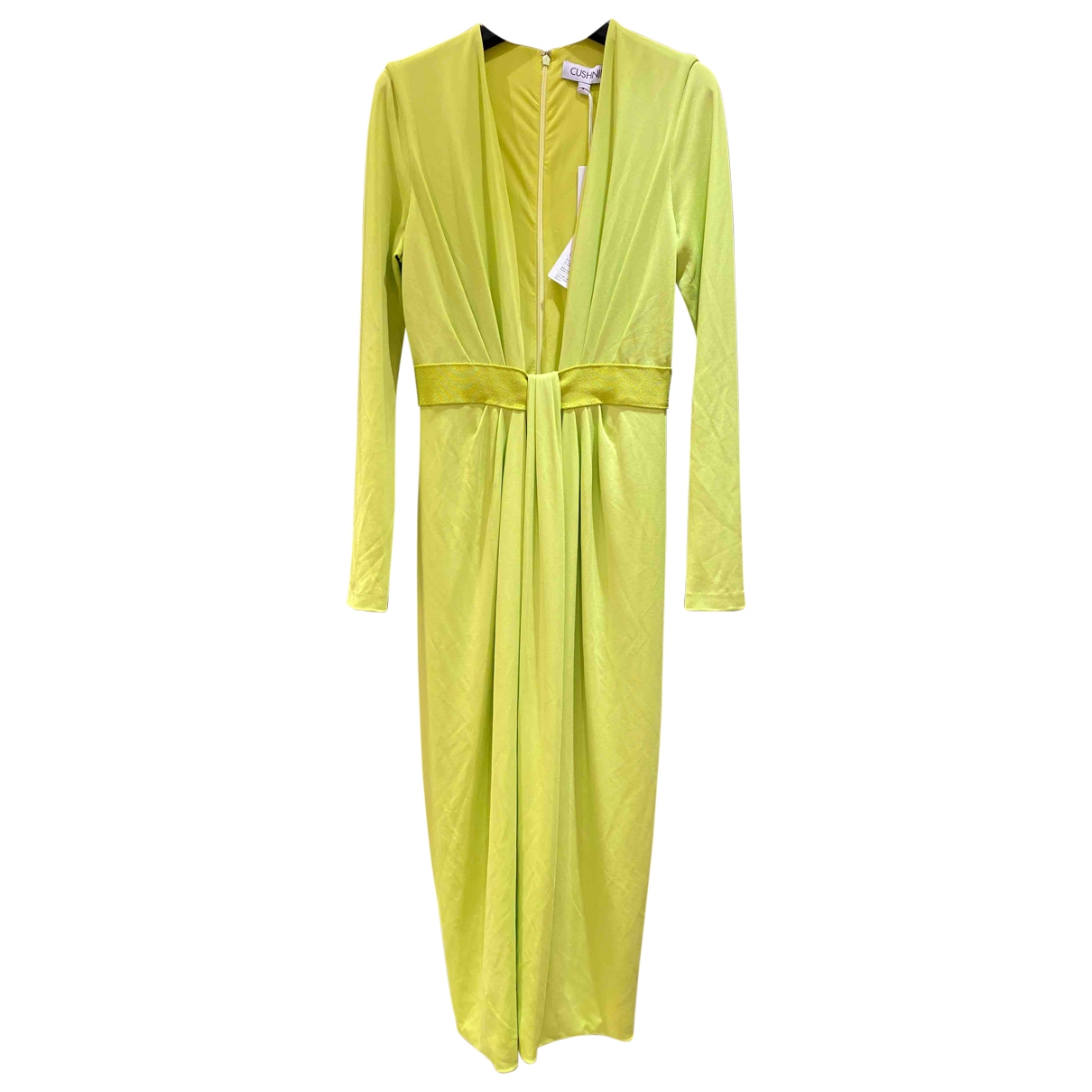 Cushnie Et Ochs \N Yellow dress for Women 4 US