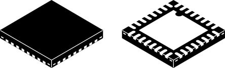 Silicon Labs Si53308-B-GM, Clock Generator LVCMOS CML, HCSL, LVCMOS, LVDS, LVPECL, Low Power LVPECL 2-Input, 32-Pin QFN (2)