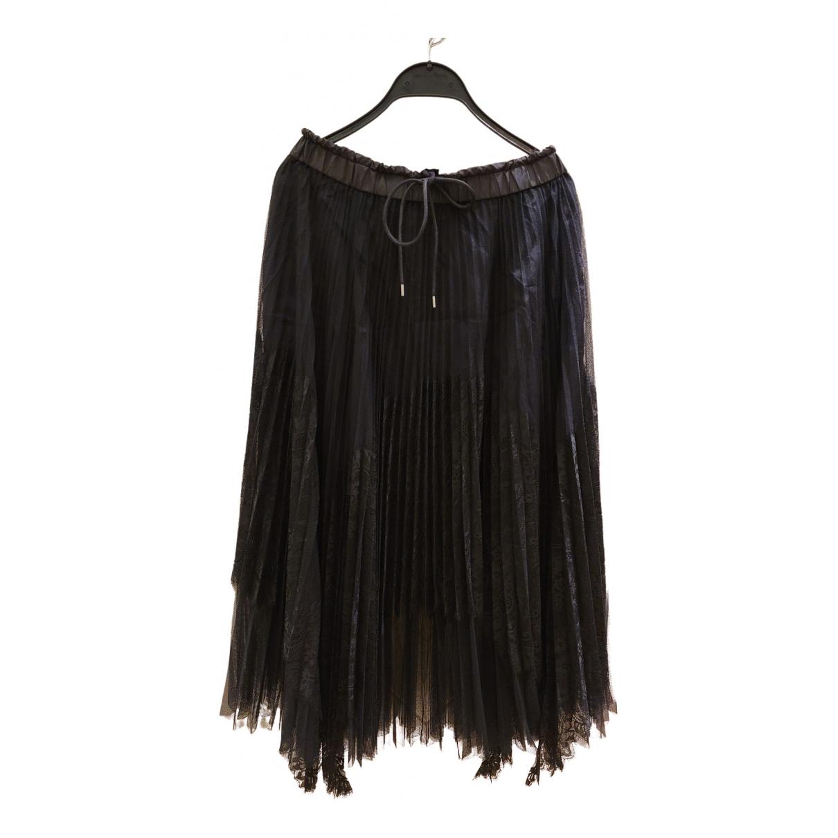 Sacai N Black skirt for Women 42 FR
