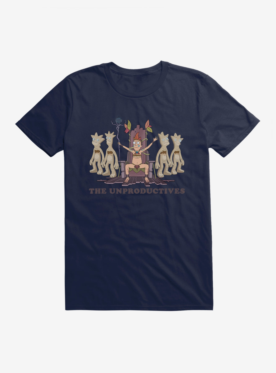 Rick And Morty The Unproductives T-Shirt