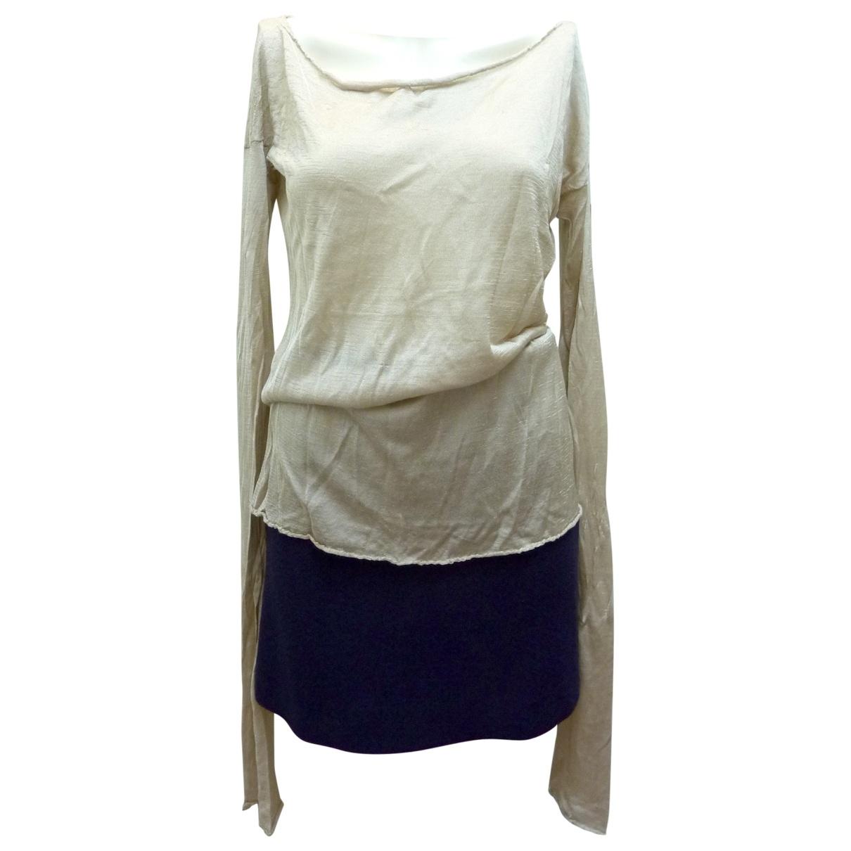 Gucci \N Gold Silk Knitwear for Women 8 UK
