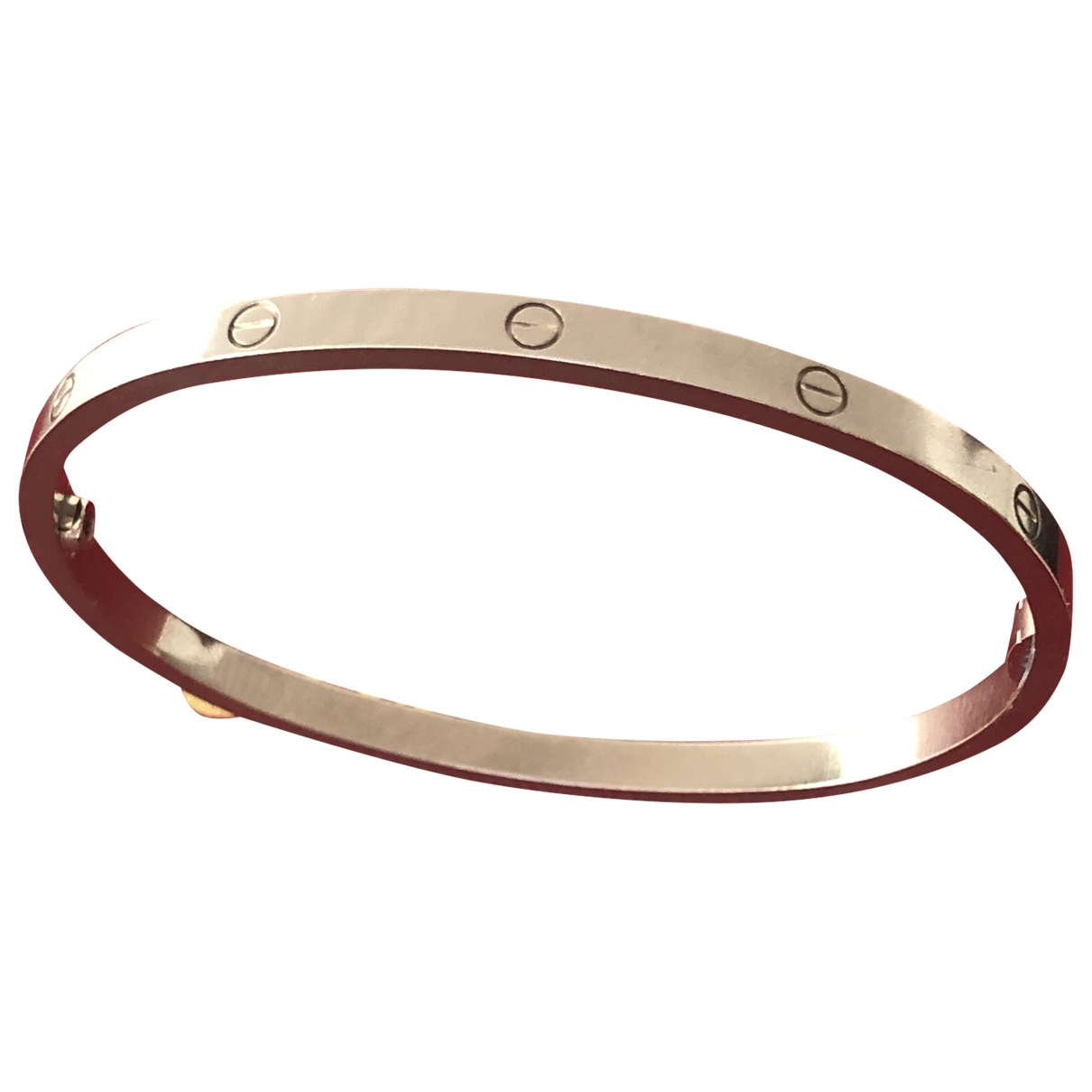 Cartier Love Armband in  Silber Weissgold