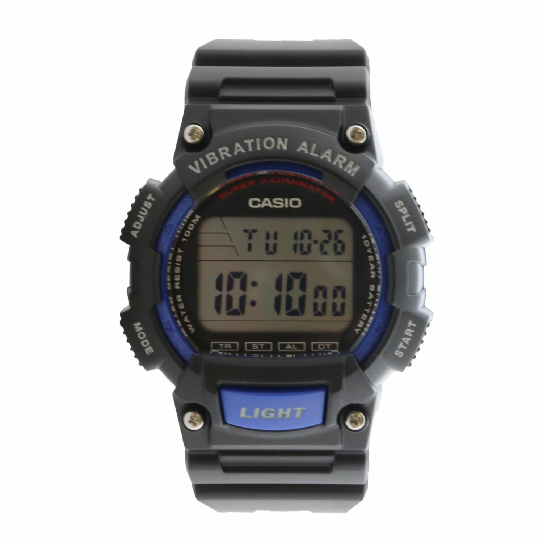 Casio Men's Classic W-736H-2AV Black Resin Quartz Sport Watch