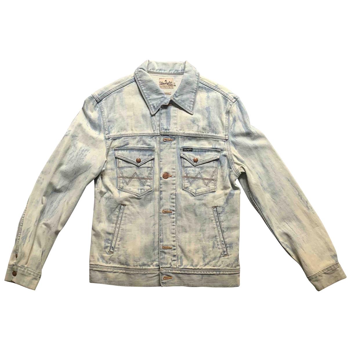 Wrangler \N Jacke in  Blau Denim - Jeans