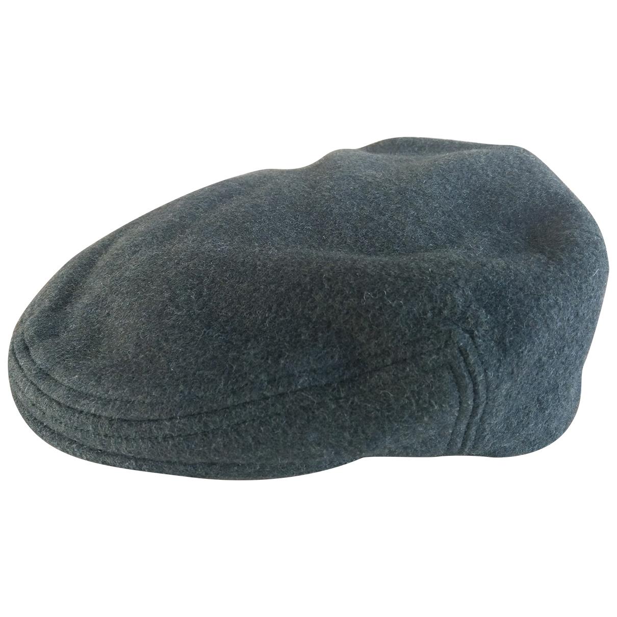 Burberry - Chapeau & Bonnets   pour homme en laine - vert