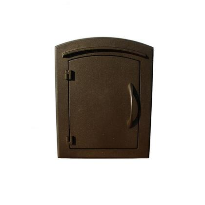 MAN-S-1400-BZ Manchester Security Drop Chute Mailbox with