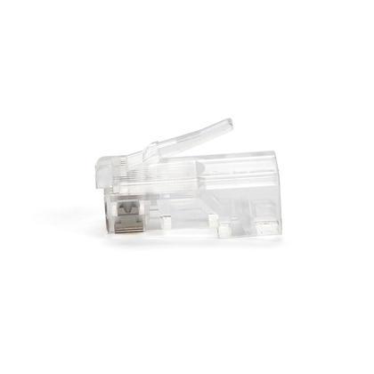 Fiches modulaires RJ45 pour câble Ethernet Cat5 / Cat5e, 100 pièces / paquet - PrimeCables®