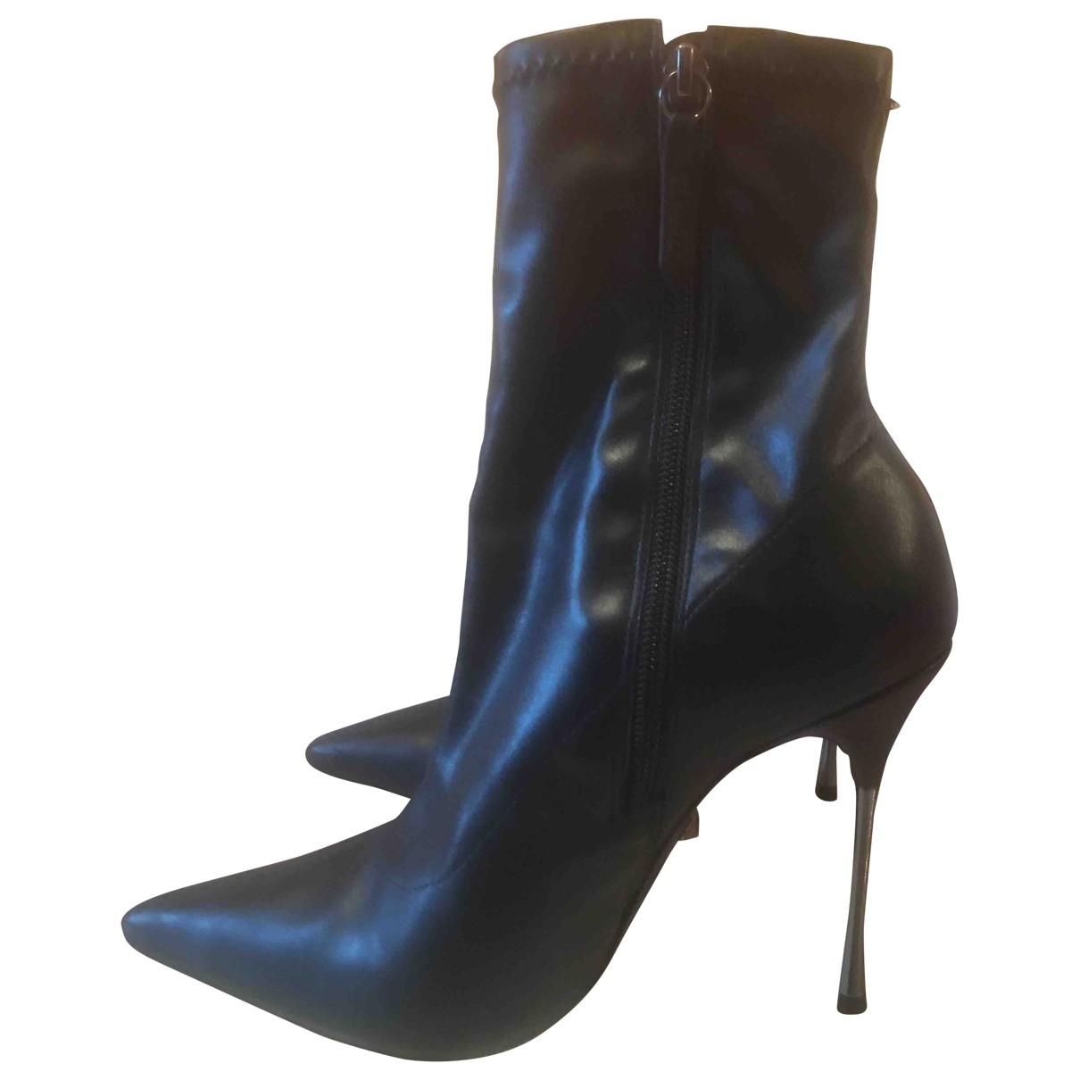 Schutz - Boots   pour femme - noir