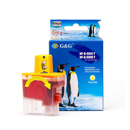 Compatible Brother LC41Y Yellow Ink Cartridge - G&G