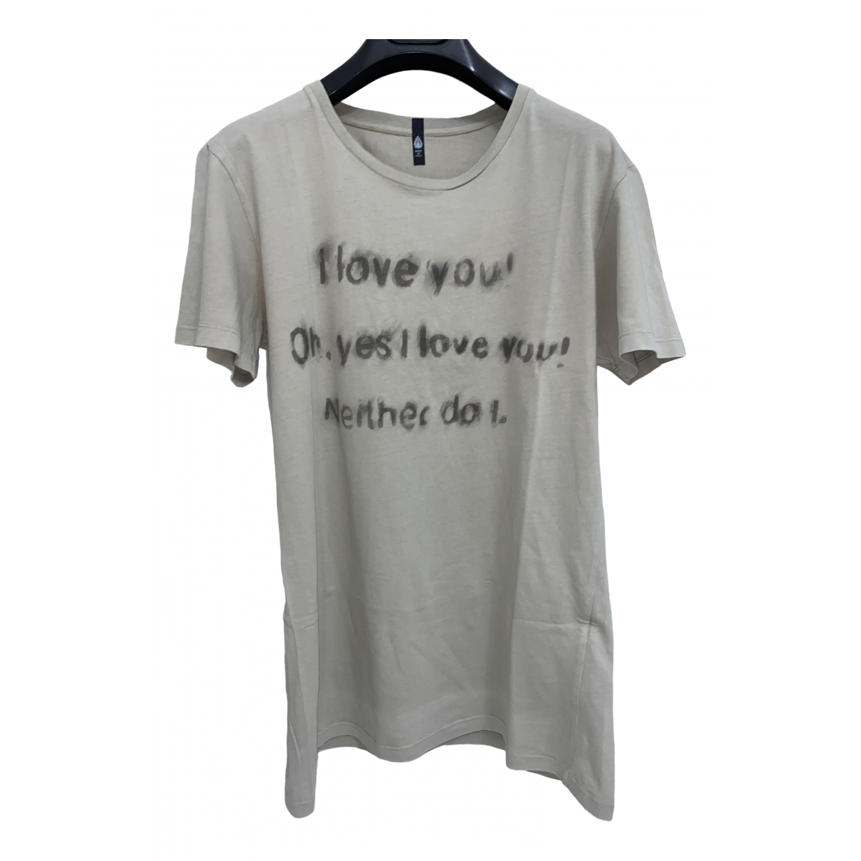 Dondup \N Beige Cotton T-shirts for Men S International