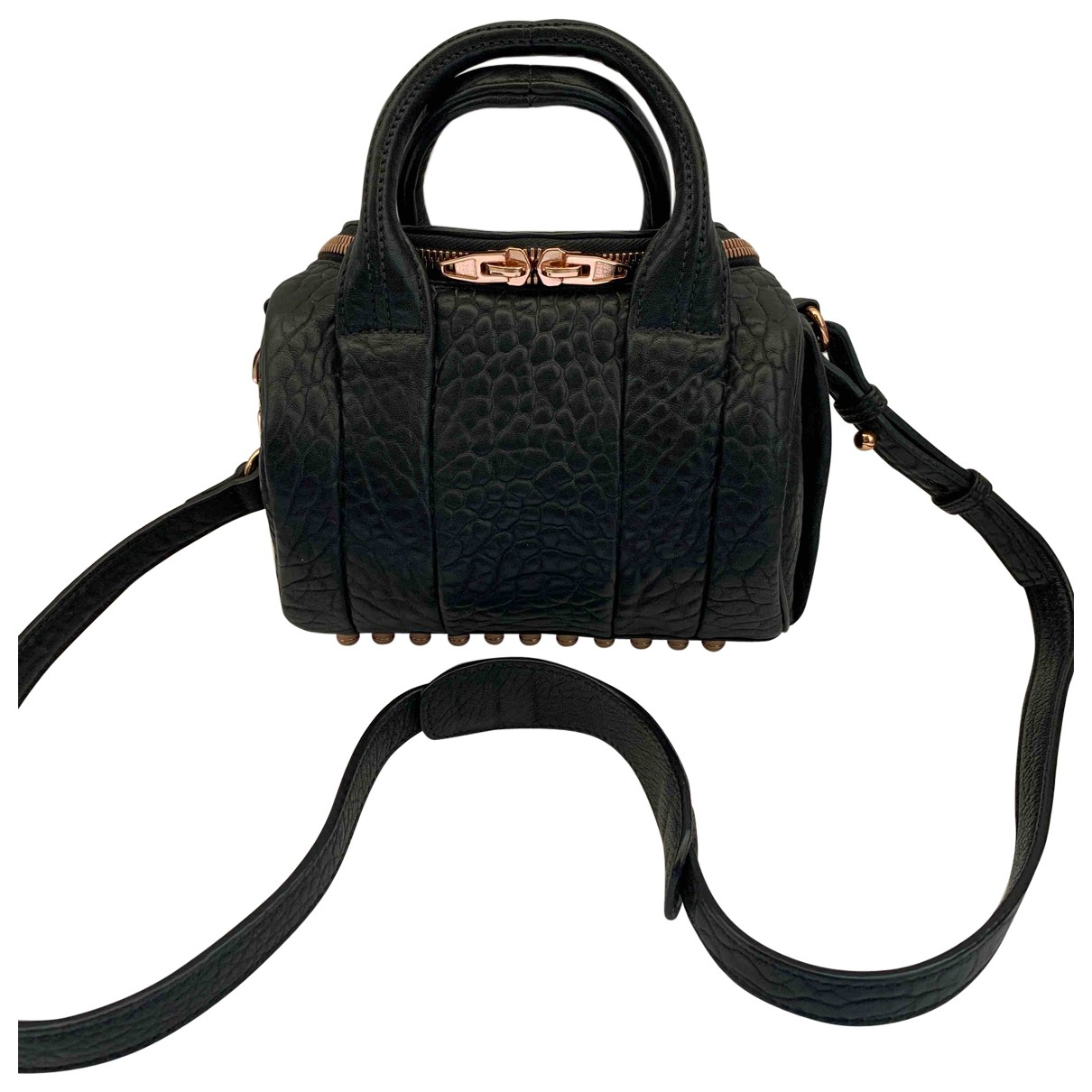 Alexander Wang Rockie Black Leather handbag for Women \N