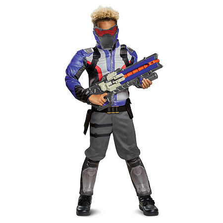 Overwatch Soldier 76 Classic Muscle Teen Costume Costume, X-large , Multiple Colors
