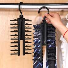 1pc Multifunction Tie Storage Rack