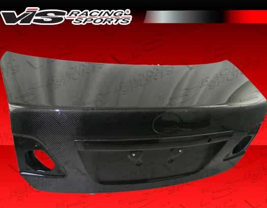 VIS Racing 09TYCOR4DOE-020C Carbon Fiber OEM Trunk Lid Toyota Corolla 09-12
