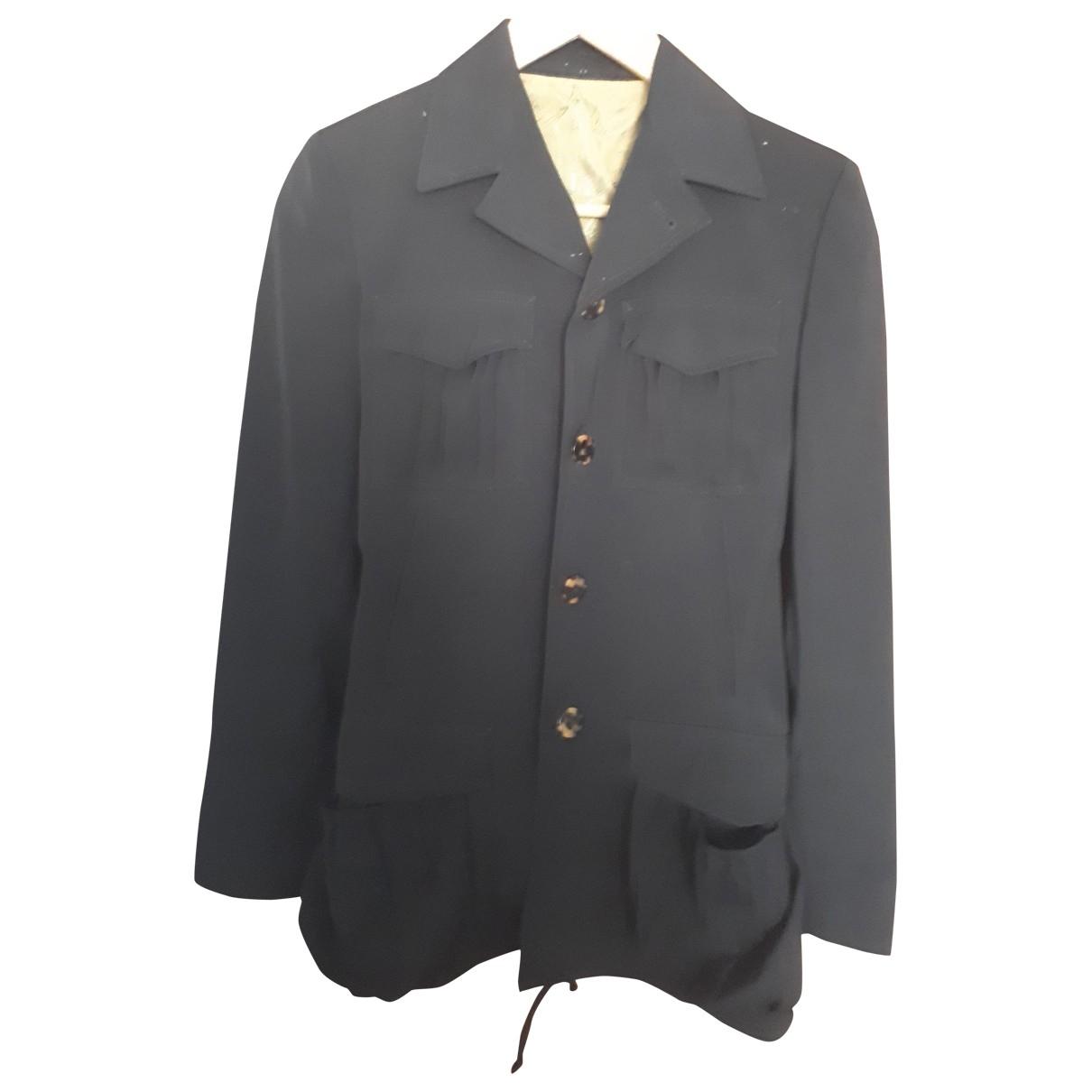 Jean Paul Gaultier \N Jacke in  Schwarz Polyester