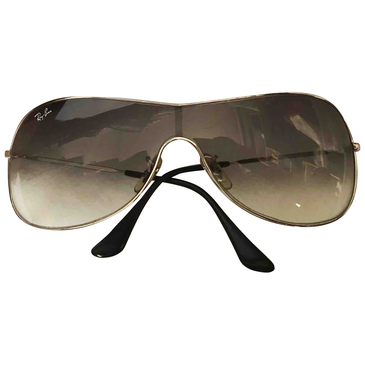 Ray-ban \N Black Metal Sunglasses for Women \N