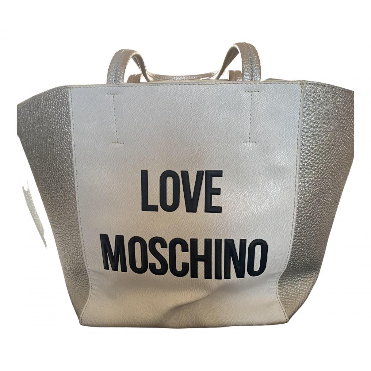 Moschino Love - Sac de voyage   pour femme - blanc