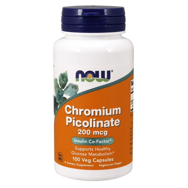 Chromium Picolinate 100 Caps by Now Foods