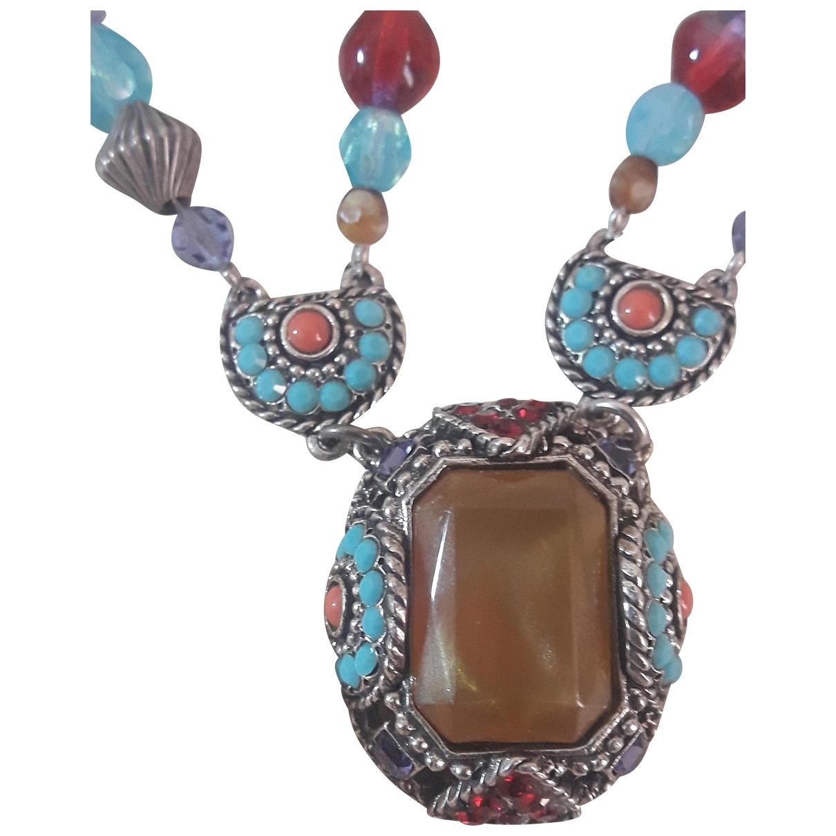 Poggi - Collier   pour femme en metal - multicolore