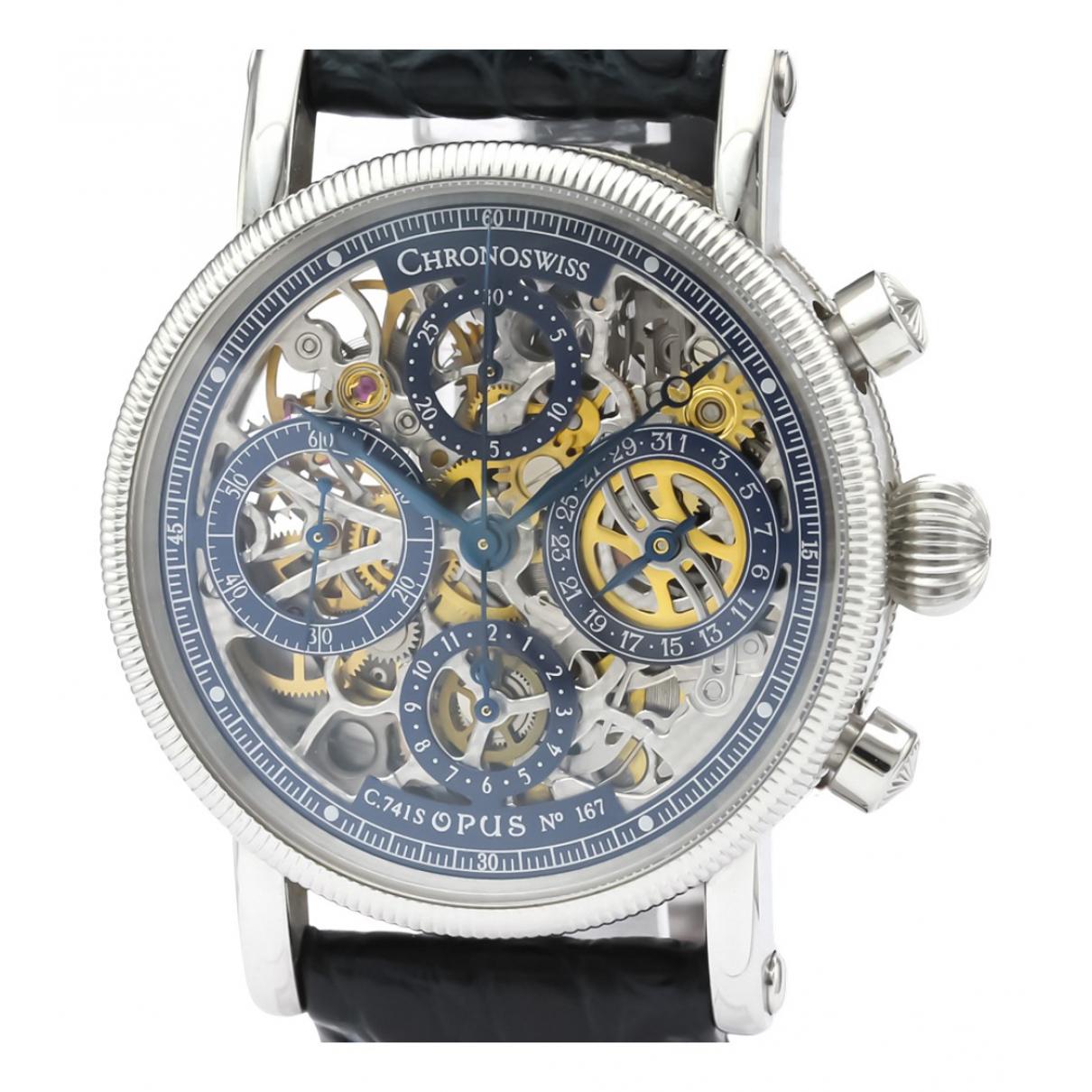Chronoswiss N Blue Steel watch for Men N