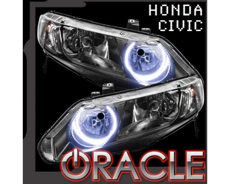 Oracle Lighting 1333-051 PLASMA Halo Kit White Honda Civic Sedan 4DR 2006-2011