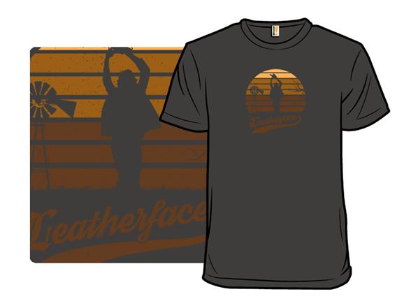 Horror Sunset: Leatherface T Shirt