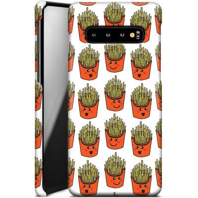 Samsung Galaxy S10 Smartphone Huelle - Happy Fries  von caseable Designs