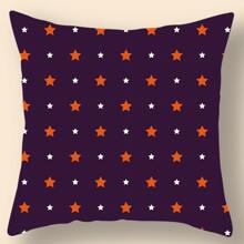 Star Print Cushion Cover Without Filler