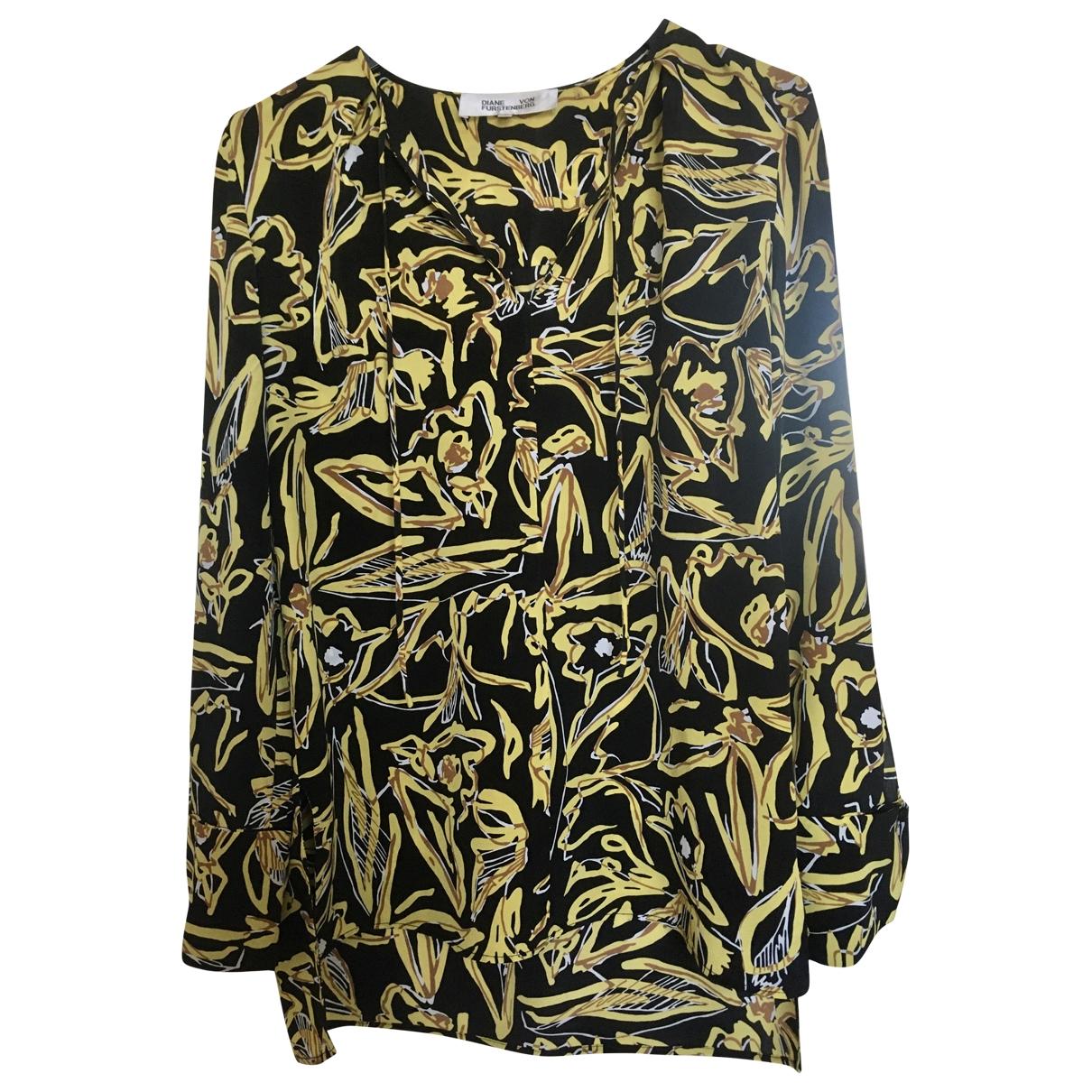 Diane Von Furstenberg \N Multicolour Silk  top for Women 4