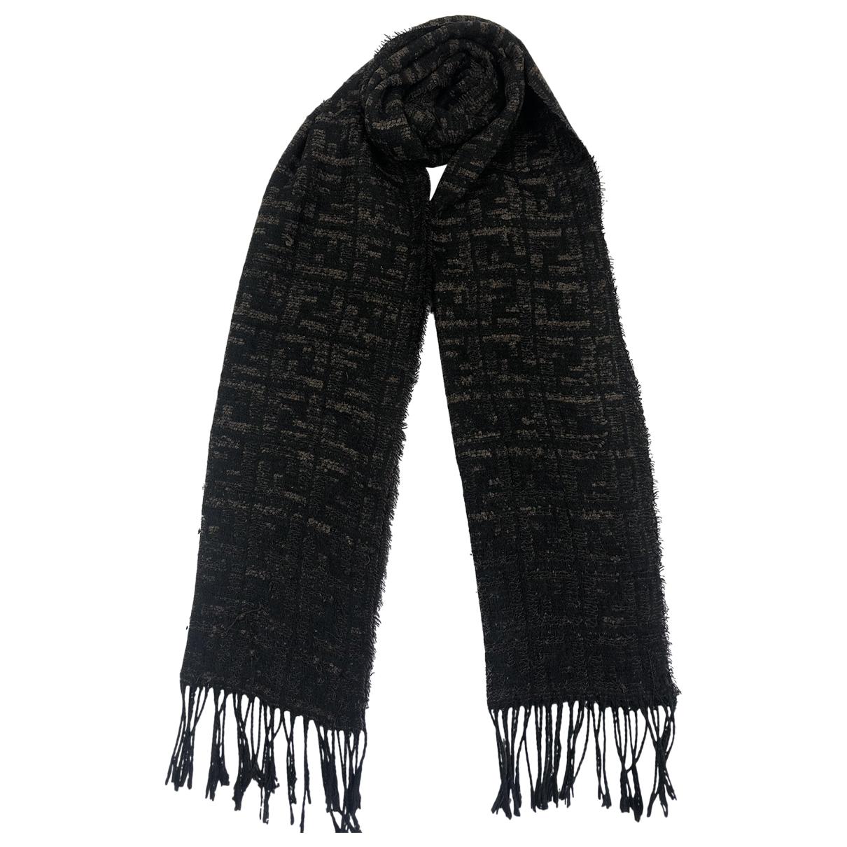 Fendi \N Black Wool scarf for Women \N